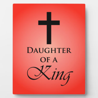 Daughter of a King Photo Plaques