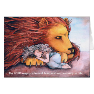 Daughter of a Lion - Greeting Card