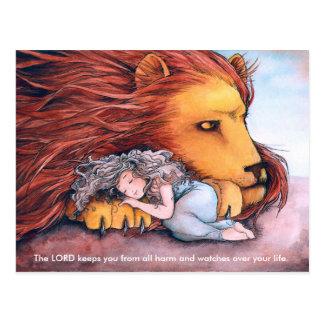 Daughter of a Lion - Postcard