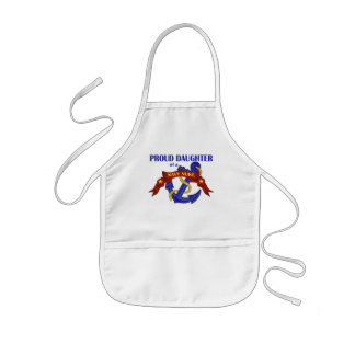Daughter of a Navy Nuke Kids' Apron