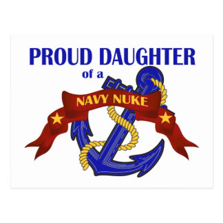 Daughter of a Navy Nuke Postcard