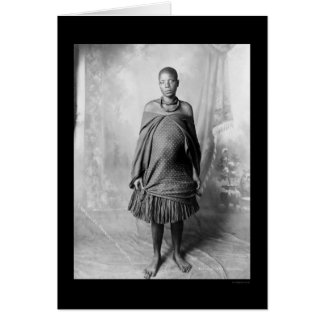 Daughter of Chief Lobengula of the Ndebele 1888 Card