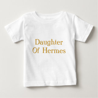 Daughter of Hermes baby shirt