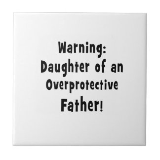 daughter of overprotective father black ceramic tile