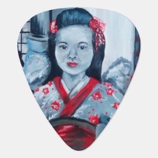 Daughter of Samurai Guitar Pick