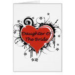 Daughter Of The Bride Greeting Card