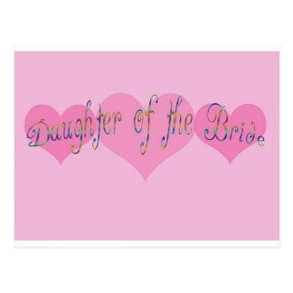 Daughter of the Bride Postcard