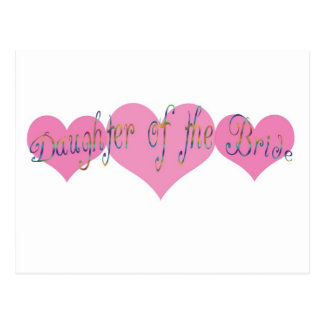 Daughter of the Bride Postcards