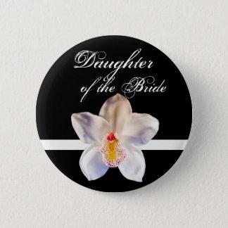 Daughter Of The Bride Wedding ID Bride Pinback Button