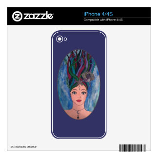 Daughter of the Deep Decal For The iPhone 4S
