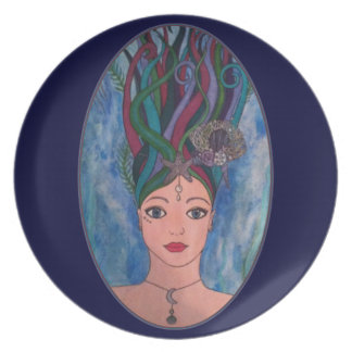 Daughter of the Deep Dinner Plate