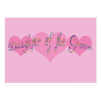 Daughter of the Groom Post Cards