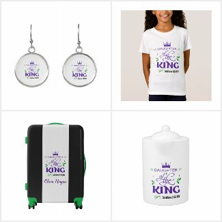 Daughter Of The King-Inspriational Designs