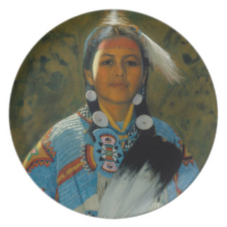 Daughter of White Eagle Plates