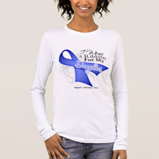 Daughter Periwinkle Ribbon - Stomach Cancer Long Sleeve T-Shirt