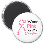 Daughter Pink Ribbon Breast Cancer Magnet