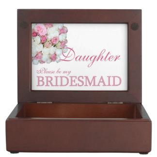 Daughter Please be Bridesmaid Memory Box