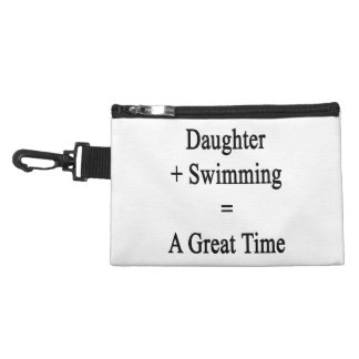 Daughter Plus Swimming Equals A Great Time Accessory Bags