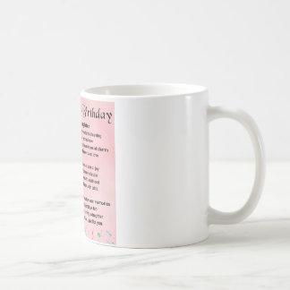 Daughter Poem  30th Birthday Coffee Mug
