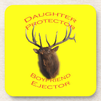 Daughter Protector Drink Coaster