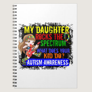 Daughter Rocks The Spectrum Autism Notebook