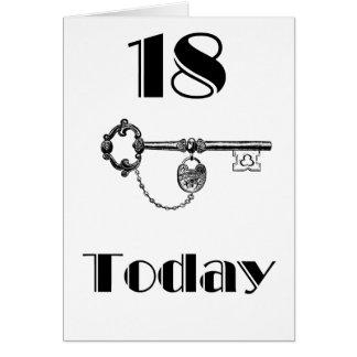 DAUGHTER/SON 18TH BIRTHDAY CARD