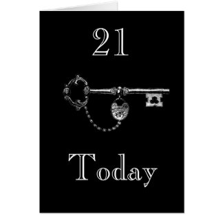 DAUGHTER/SON 21ST BIRTHDAY CARD