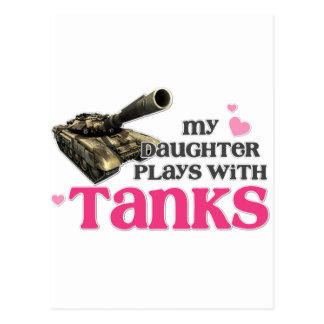 Daughter tanks postcard