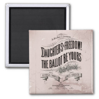Daughter the Vote is Yours Magnet