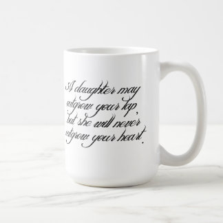 Daughter to Father Quote Mug