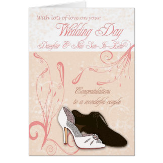 Daughter Wedding Day Card with love