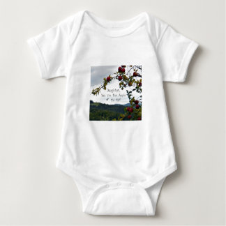 Daughter, you are the Apple of my eye! Baby Bodysuit