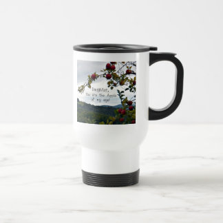 Daughter, you are the Apple of my eye! Travel Mug