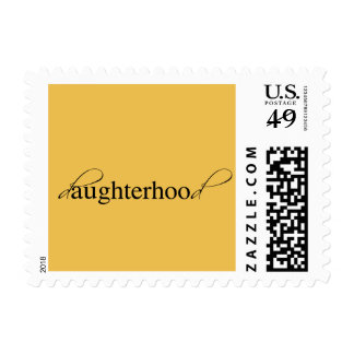Daughterhood Postage Stamp