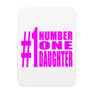 Daughters Birthdays Christmas Number One Daughter Magnets