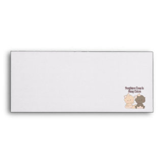 daughters come in many colors adoption design envelope