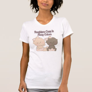 daughters come in many colors adoption design tee shirts