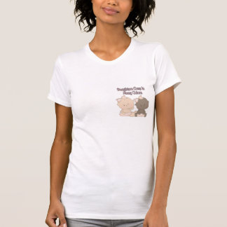daughters come in many colors adoption design t shirts