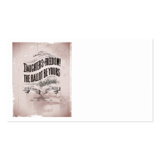Daughters Freedom Ballet is Yours Business Card