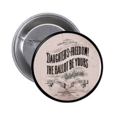 Daughters Freedom Ballet is Yours Button at Zazzle