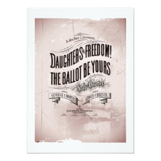 Daughters Freedom Ballet is Yours Card