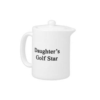 Daughter's Golf Star