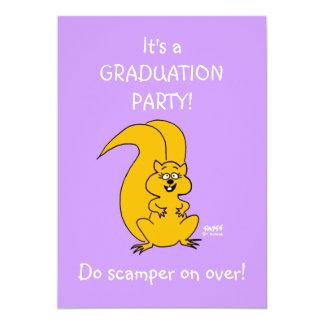 "Daughters Graduation Party Funny Invitation 5"" X 7"" Invitation Card"