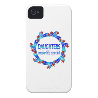 Daughters Make Life Special iPhone 4 Cases