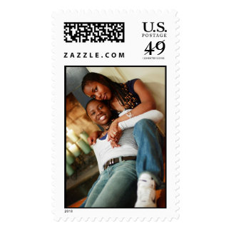 Daughters Make the World Go Round! Postage Stamps