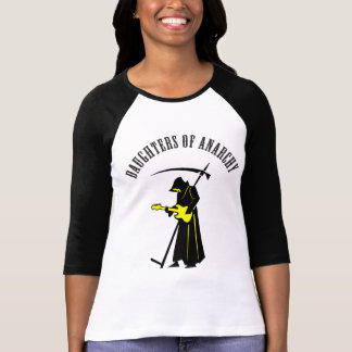 Daughters of Anarchy Biker Grim Reaper T-Shirt