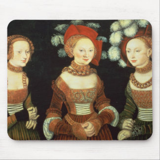 Daughters of Duke Heinrich of Frommen Mouse Pad