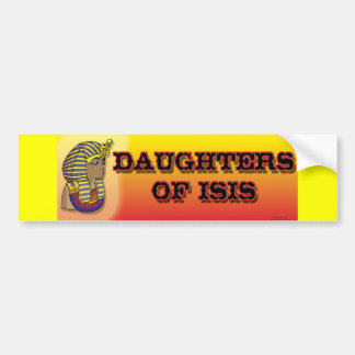 Daughters of Isis Bumper Sticker