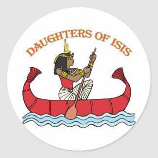 Daughters of Isis Classic Round Sticker