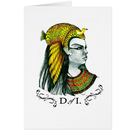 Daughters of Isis Greeting Cards by PG Mills